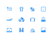 icons that are often used.