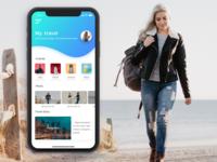 Travel UI designed App