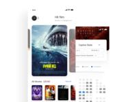 Movies app UI