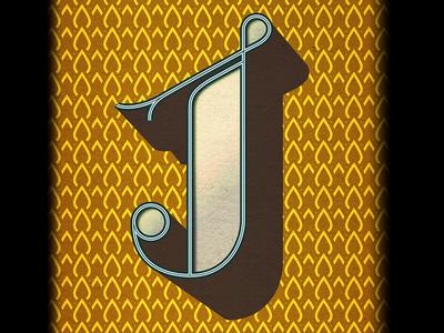 J letter, finished.