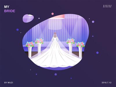 The most beautiful bride bride