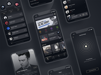 A music app design