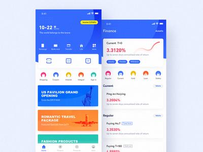Wallet app interface design