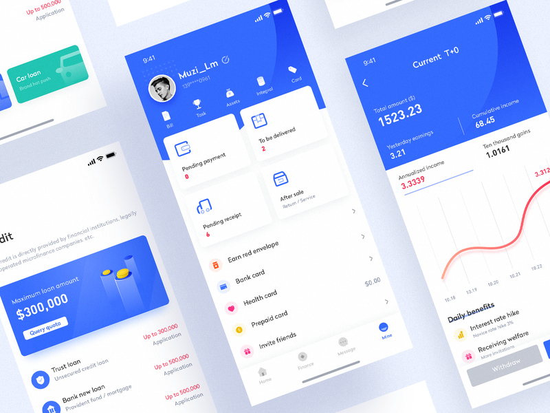 Wallet app interface design - 2 design ui app icon app,ui icon,ui