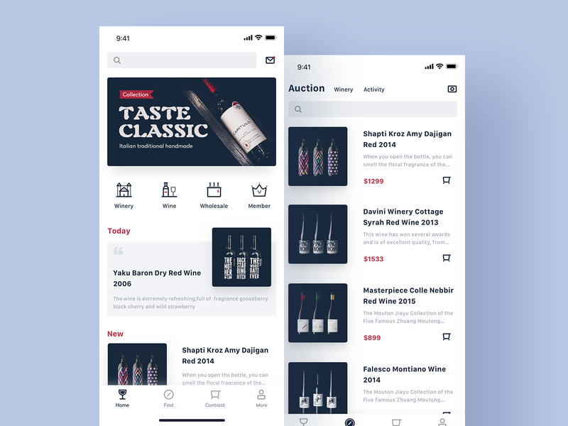 An app for wine tasting and selling ui app icon icon,ui