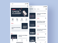 An app for wine tasting and selling