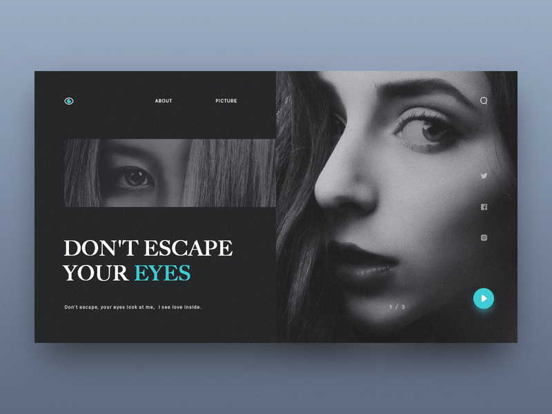 Don't escape your eyes ui icon app,ui design icon,ui