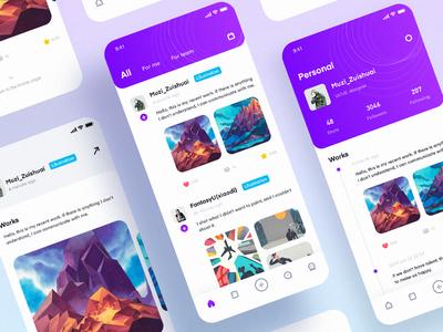 A work management and design communication platform app