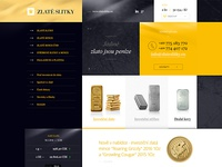 Gold Investment website redesign