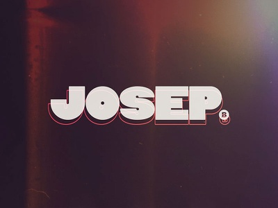 New Logo - Josep motiongraphics motion design simple design tipography graphic design design logo
