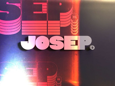 New Logo - Josep branding motion logo design animation