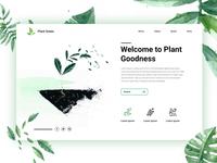 Planting Landingpage