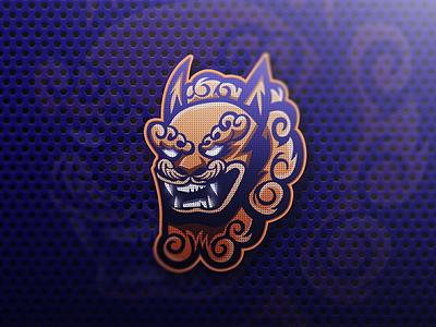 Foo Dog Mascot logo foodog forsale esportlogo esport illustrator characterdesign gaming character logos esports illustration vector logodesigner graphicdesigner graphic design branding mascotlogo logo sportlogo