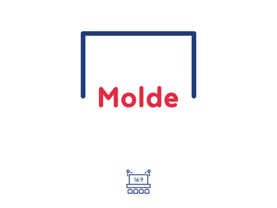 Molde Films portfolio logonew minimal minimalism minimalist brand mark design logos graphic logo cinema cine type logotype productions film movie