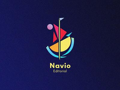 Navio Editorial for sale work editorial book illustrator vector design logos logo inspirations logoawesome logo kandinsky minimal art