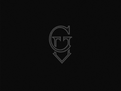 VG monogram tioray vector handlettering lettering monograms letter mark desgin logo type design monogram