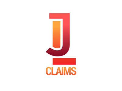 JL Claims monogram logo graphic design adjuster claims branding brand mark logo monogram