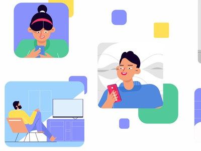 Recent Project Update from Picto Design Studio motion 2d character graphics 2danimation motiongraphics branding animation illustraion pictodesignstudio illustration