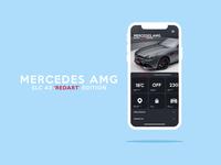 Mercedes App Concept