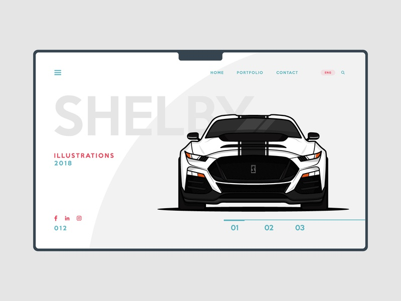 Layout webdesign flat simple design ui cool navigate redesign post of the day sophisticated