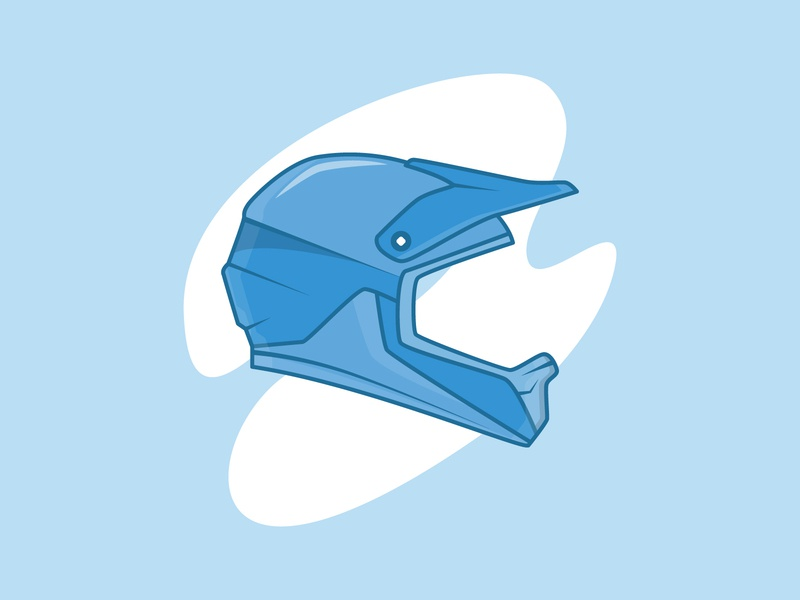 Helmet gear biker helmet dribbble sexy automotive powerful cool auto simple flat illustrator vector illustration
