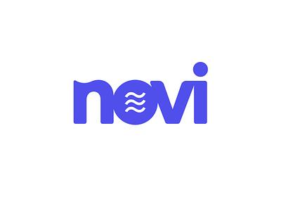 Novi logo branding crypto logo