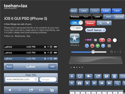 Ios6 gui iphone5