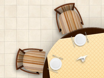 Restaurant Hall restaurant hall scheme cafe chair table ui restaurant interface