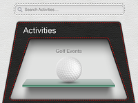 Search activities with activities gallery