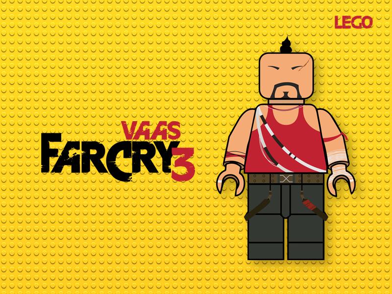 Vaas - The deadman vector illustrationoftheday illustration graphicdesign vaas flatdesign flat design farcry3 adobe-illustrator adobeillustrator