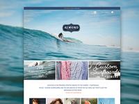 Almond Surfboard