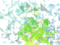 Generative Art in Javascript experiment - Triangles