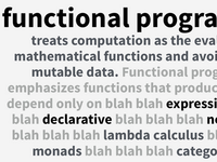 functional programming slide