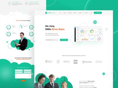 Website for a Digital Agency