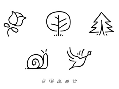 Doodle icon set doodle icon
