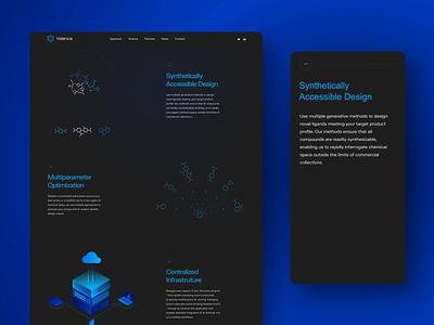 Valence Mobile Page web design interaction web website illustration color uidesign uxdesign inspiration uiux ux ui design brand