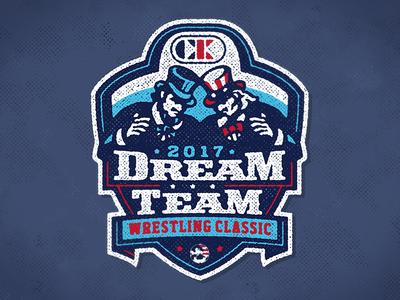 Dream Team 2107 tournament logo wrestling