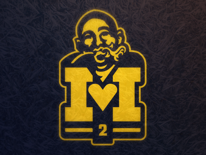 I  Heart Charles Woodson raiders packers mascot logo college football sports athletics football wolverines michigan charles woodson