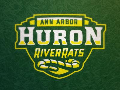 Huron River Rats Wordmark