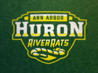 Huron River Rats Wordmark