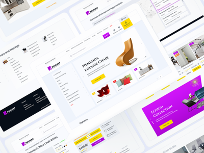 Remart Hypermarkets Website - Showcase design web design flat ui ux minimal uxdesign ui  ux design uidesign concept
