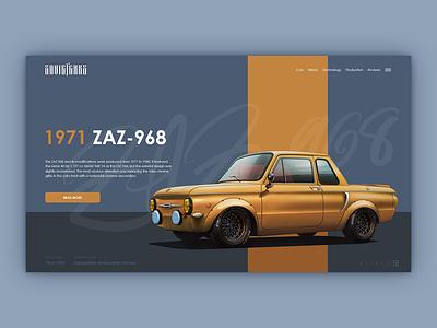 Zaparozhec 968 web design concept uxdesign uidesign ui  ux design