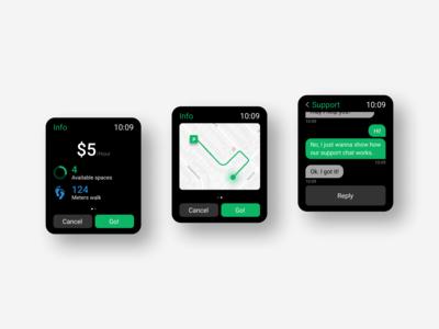 ParkMe! — Watch App