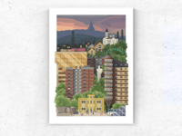 Hometown Illustration
