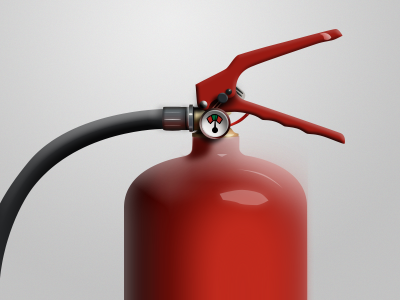 extinguisher extinguisher fire icon illustration