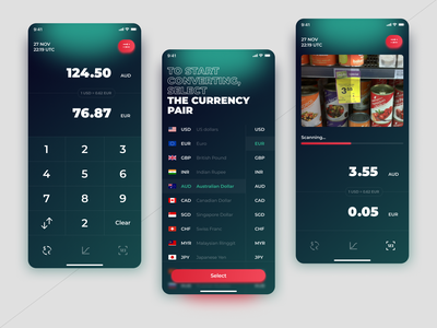 currency converter android ios mobile converter bank green scan currency converter currency