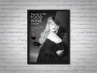 DLM Food & Wine Show 20th Anniversary Event Poster