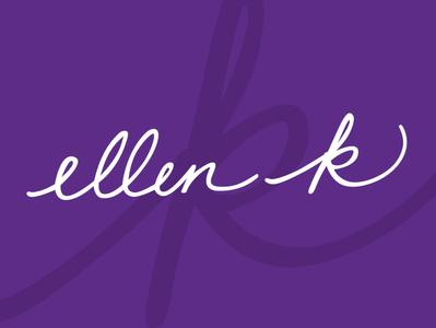 Ellen K Logo & Branding