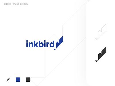 Inkbird Brand Design marketing branding design typography minimal ui logo branding color vector design flat simple