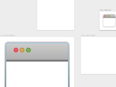 Minimal Window Icon in Sketch sketch.app sketch minimal icon window window-icon